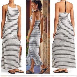Athlete Serenity Stripe Maxi Dress.